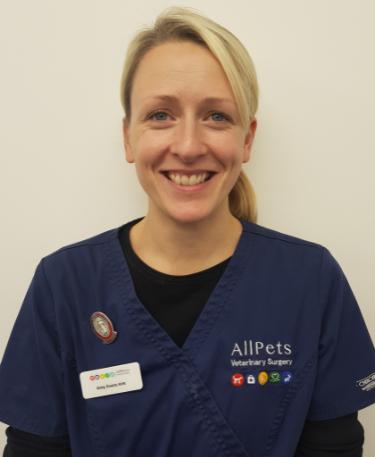 Amy Evans RVN – Vet Nurse