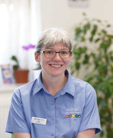 Angela Limbert – Receptionist